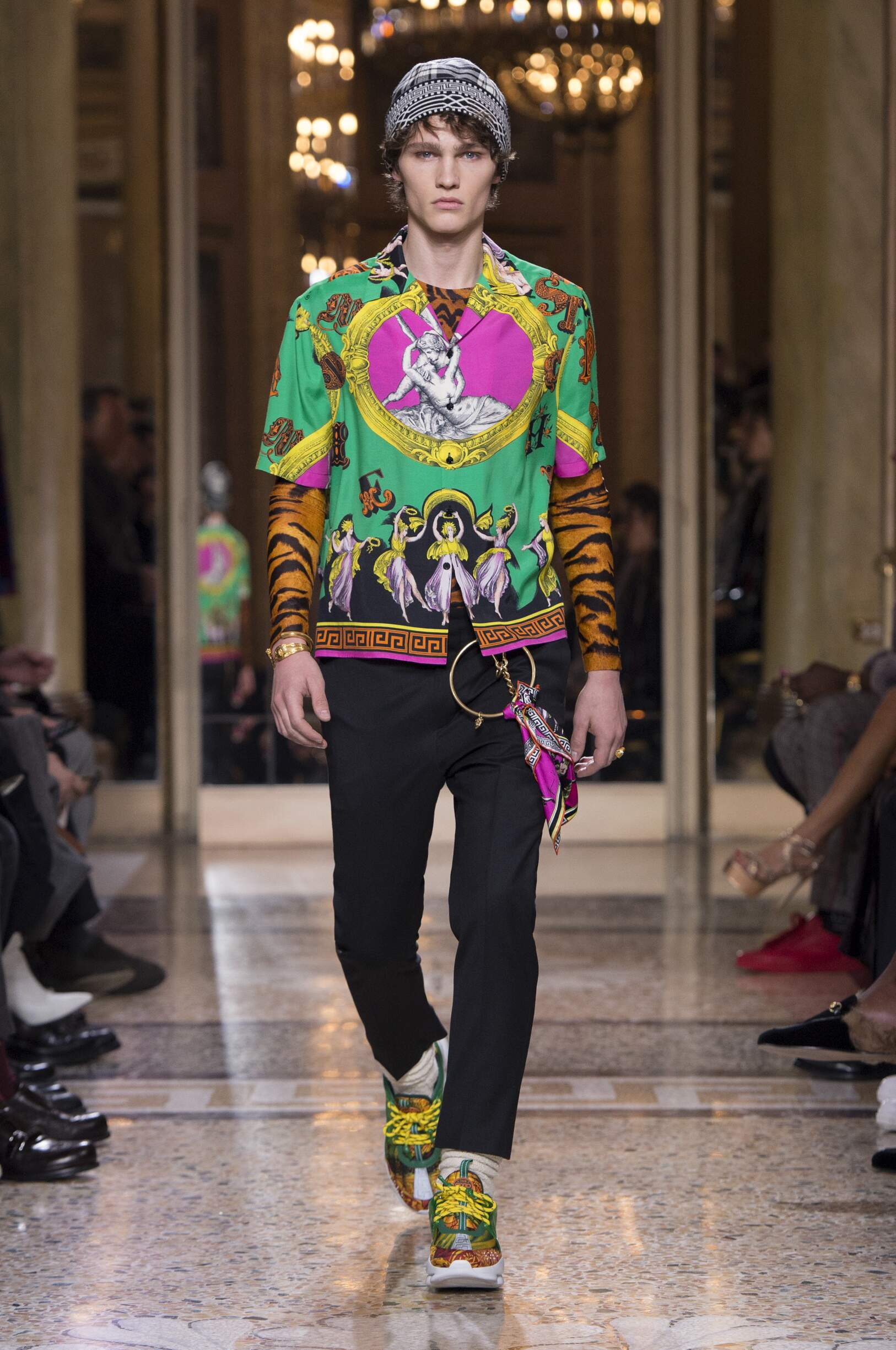 VERSACE FALL WINTER 2018 MENS COLLECTION  The Skinny Beep