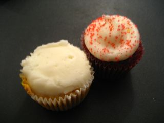 Red Velvet and Pumpkin Cheesecake Minis