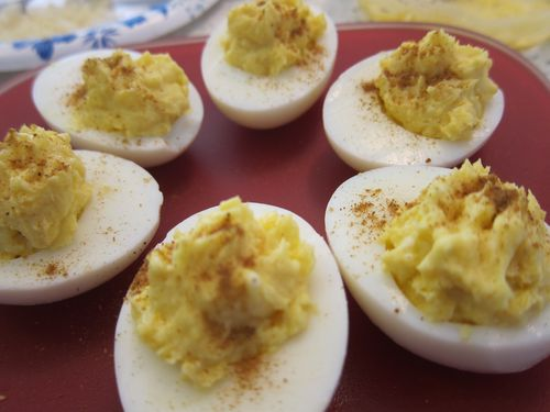 Greek Deviled Eggs 1