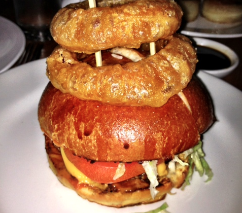 Burger Deliciousness from Lure Fishbar