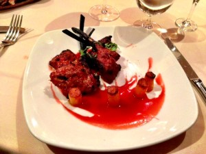 Red red lamb. Pretty.