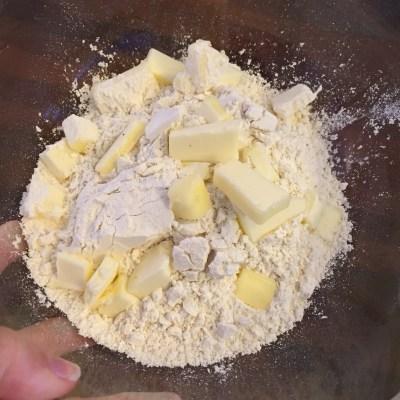 KA butter in flour