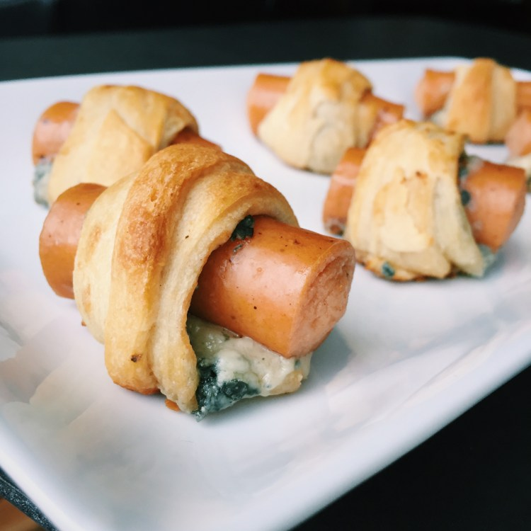 Buffalo & Blue Cheese Pigs in a Blanket