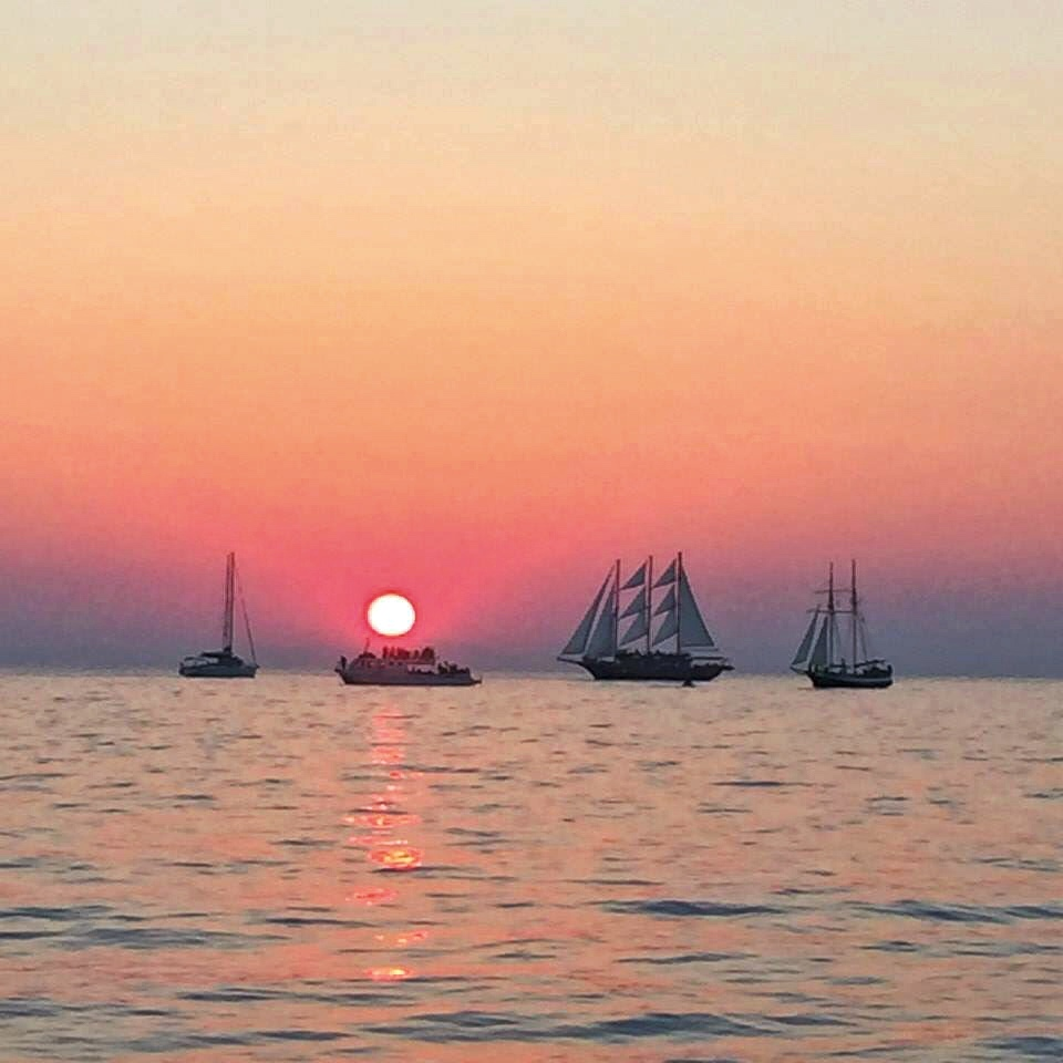 Santorini sunset 1