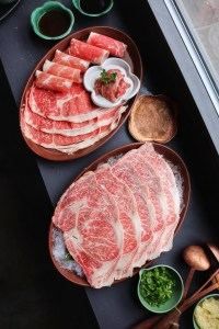 Tang hot pot marbling