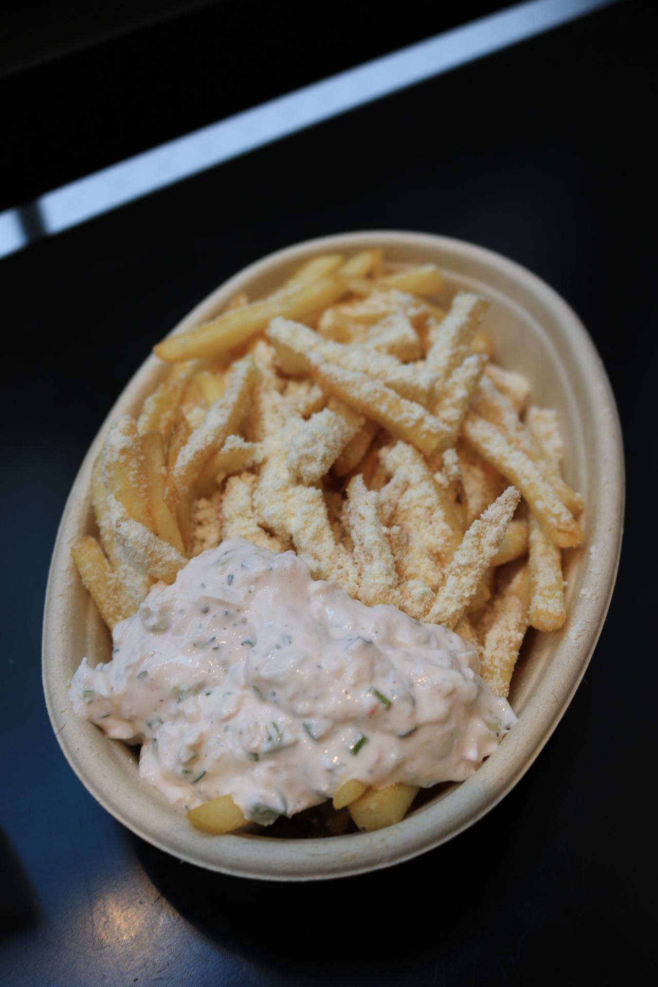 Piggie Smalls Gyro Shop Chicago fries