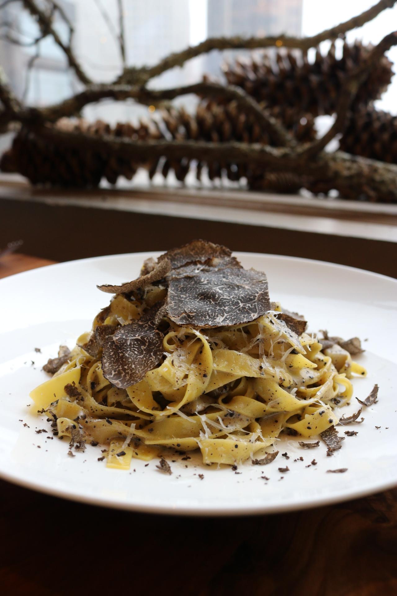 Truffle Pasta Bluebird London NYC