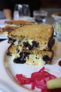 The Cheese Bar - Blood Sausage Grilled Cheese