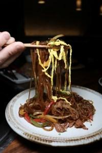 YOON Haeundae Galbi JapChae noodles