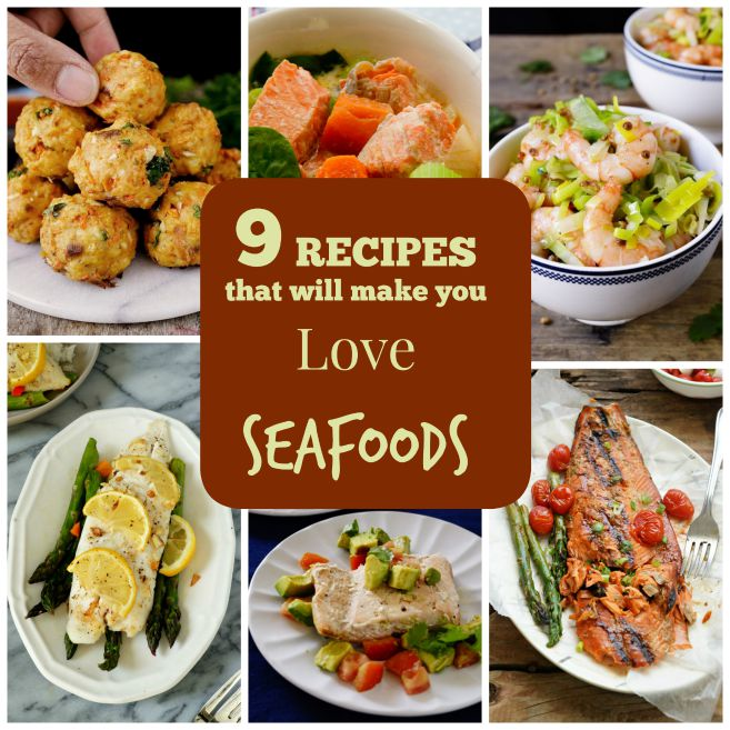 Easy Sea food Recipes that will Make You love Sea foods