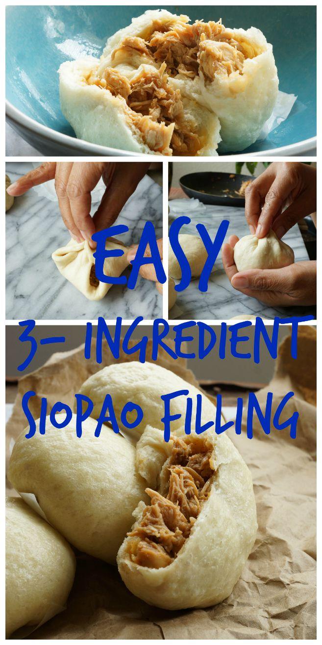 Easy 3 Ingredient Siopao Recipe