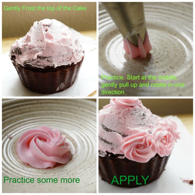 BREAST CANCER AWARENESS PINK BOUQUET CAKE PLUS STEP BY STEP PHOTO