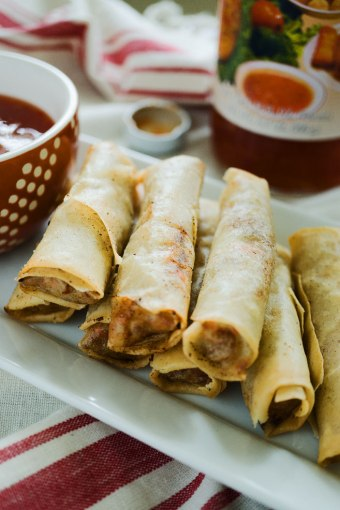 How to Make Lumpia Shanghai or Filipino Egg Rolls plus VIDEO
