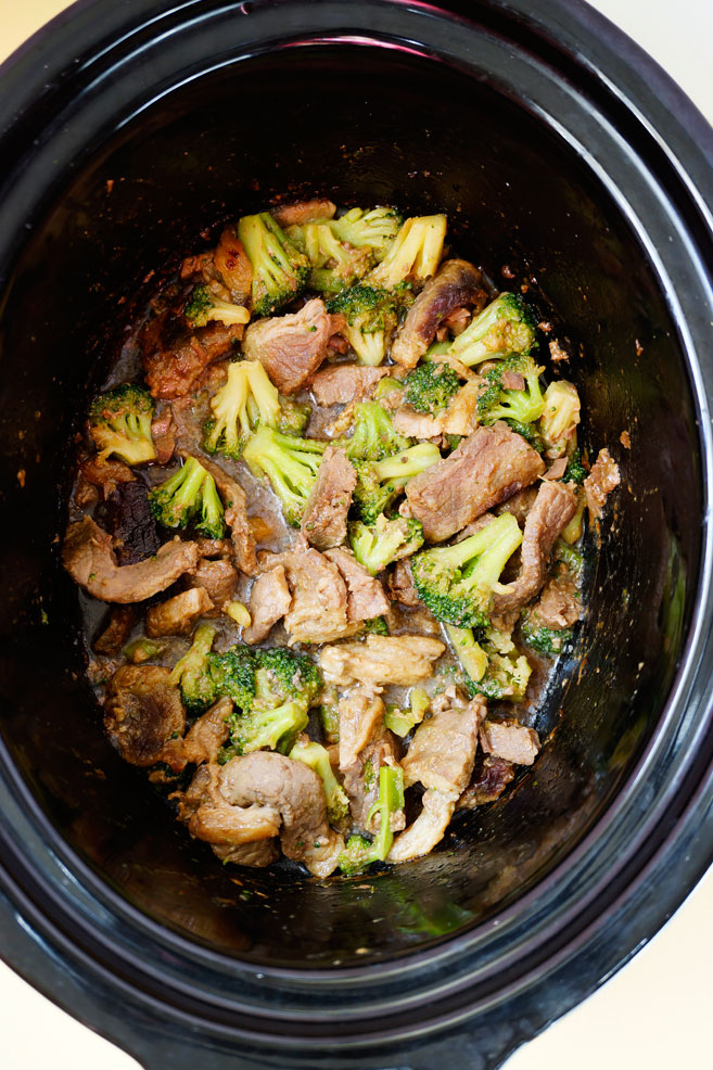 Crock Pot Asian Beef Broccoli