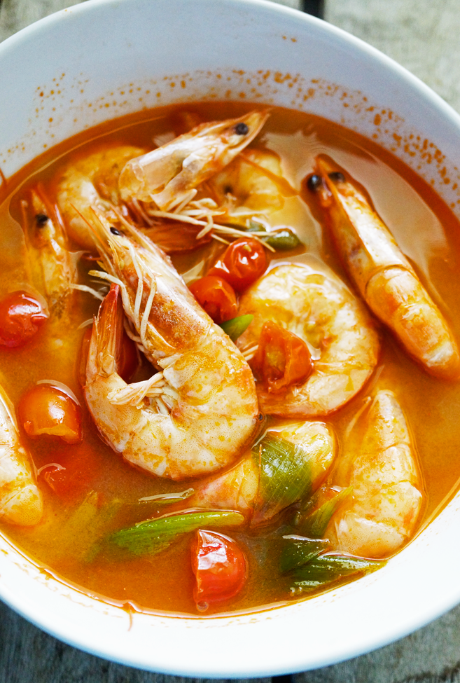 Sinigang na Hipon- Shrimp in Sour Soup