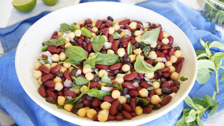 HOW TO MAKE 3 BEAN SALAD