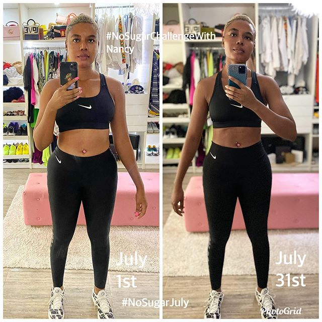 Nancy Isime shows off her hot physique after her NoSugarChallenge (Photos/Video)