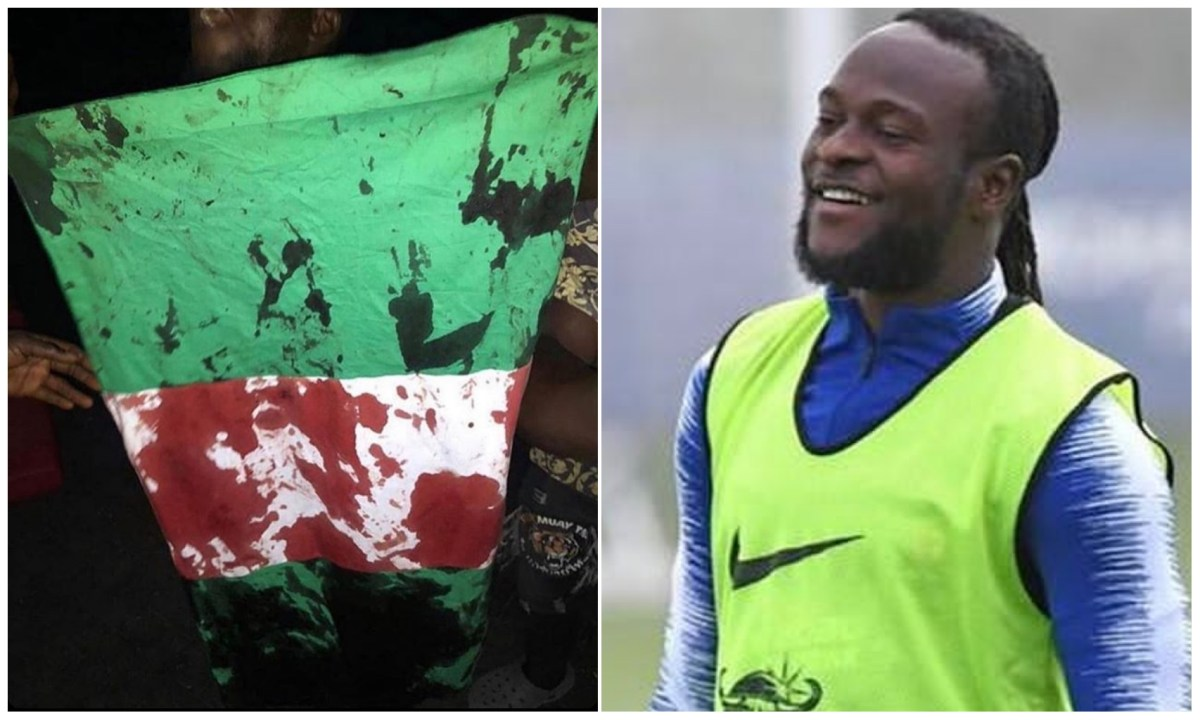 Why are innocent protesters killed – Victor Moses condemns killings of Lekki protesters