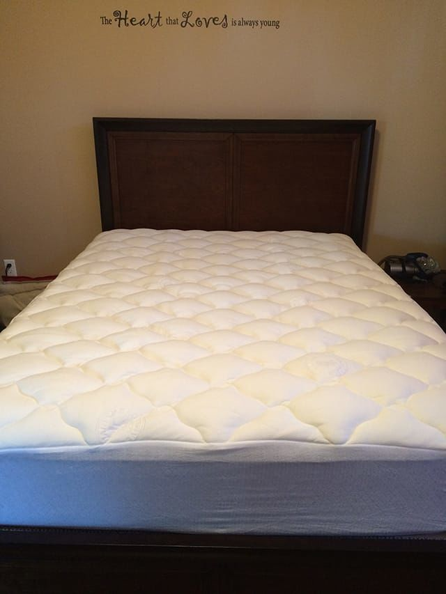 Extra Plush Bamboo Ed Mattress Topper