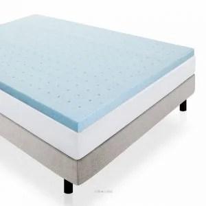 foam mattress topper for sofa bed velvet slipcovers best reviews 2019 the sleep judge lucid 2 inch gel memory