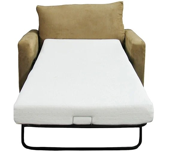 A Sofa Bed Without Comfortable Mattress