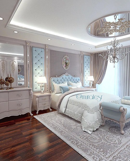 39 Amazing And Inspirational Glamour Bedroom Ideas The