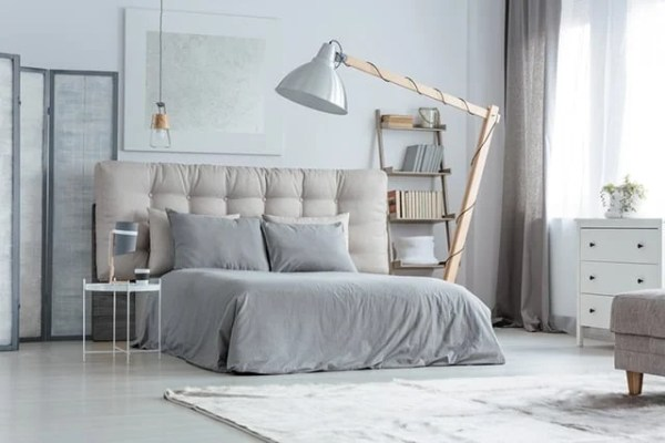 industrial grey bedroom 37 Awesome Gray Bedroom Ideas To Spark Creativity | The