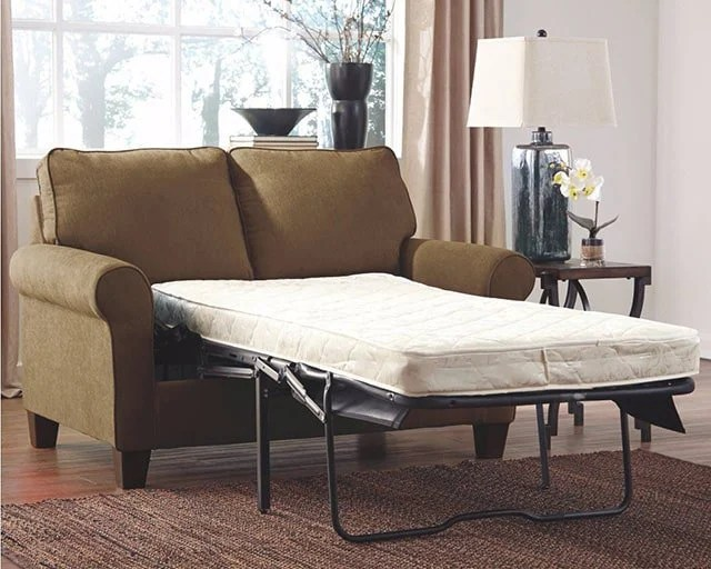 sofa bed with innerspring mattress ethan allen paramount best small beds reviews 2019 the sleep judge if you want a typical go type which will provide nice bounce but might feel bar underneath
