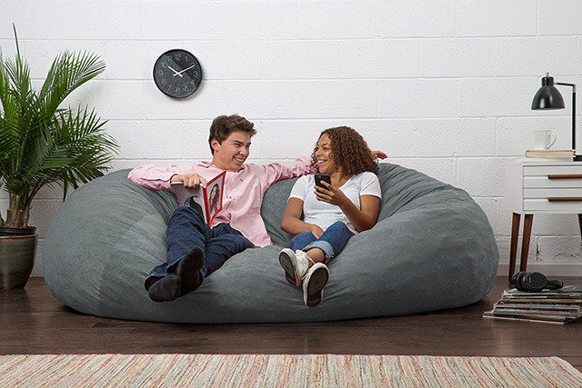 big joe bean bag chair multiple colors 33 x 32 25 spandex covers for cheap best chairs gaming reviews 2019 the sleep judge once