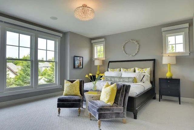 yellow gray and white living room design for small 29 of the best grey paint colors bedrooms sleep judge 23 winter s gate