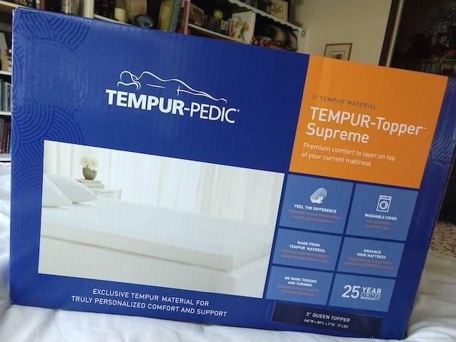 tempur pedic tempur topper supreme
