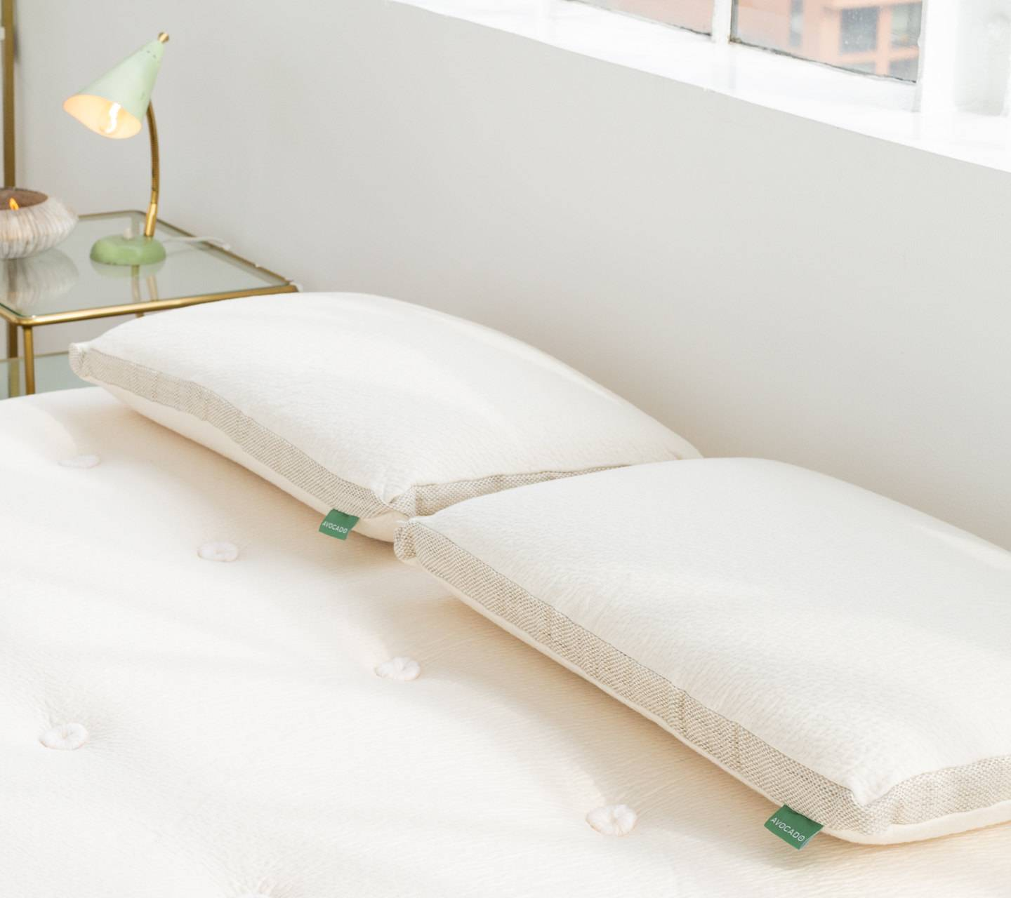 avocado molded latex pillow review