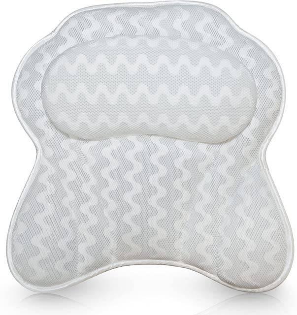 best bath pillows for a relaxing soak