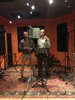 Manuel Stefano registrazione cantato