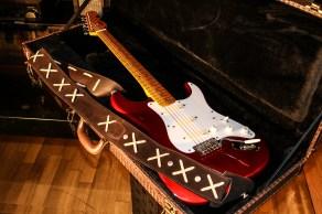 Stratocaster red strat David Gilmour studio Sleepless 3