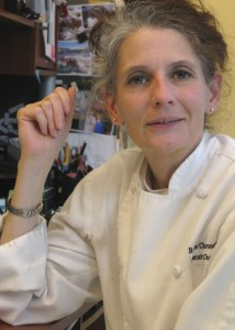 Executive chef Bonnie Christensen