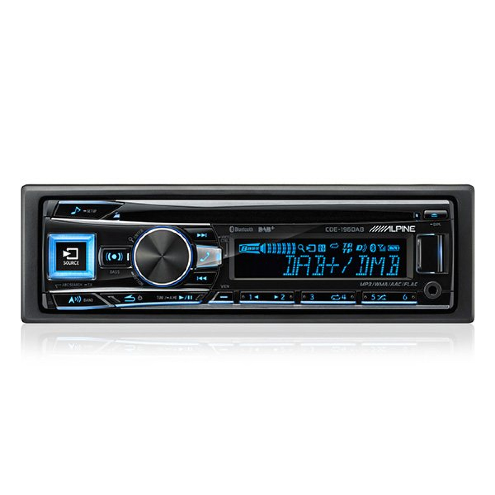 pioneer stereo wiring diagram sequence reservation alpine cde-196dab single din radio cd mp3 bluetooth usb player head unit | the sl shop