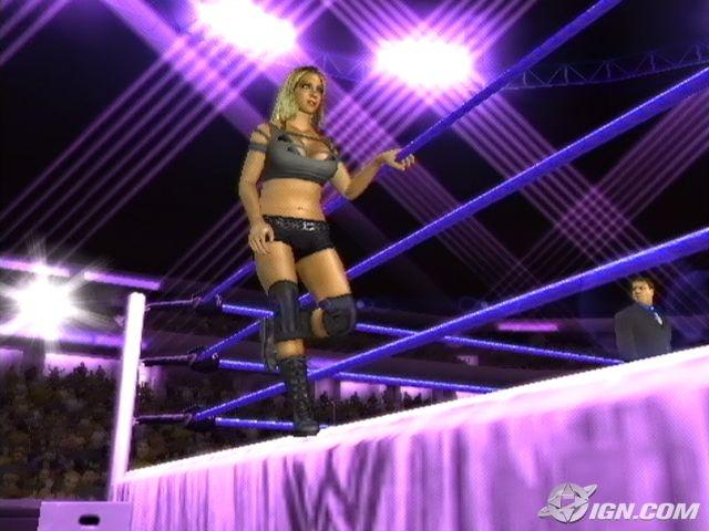 Jillian Hall WWE SmackDown Vs Raw 2007 Roster