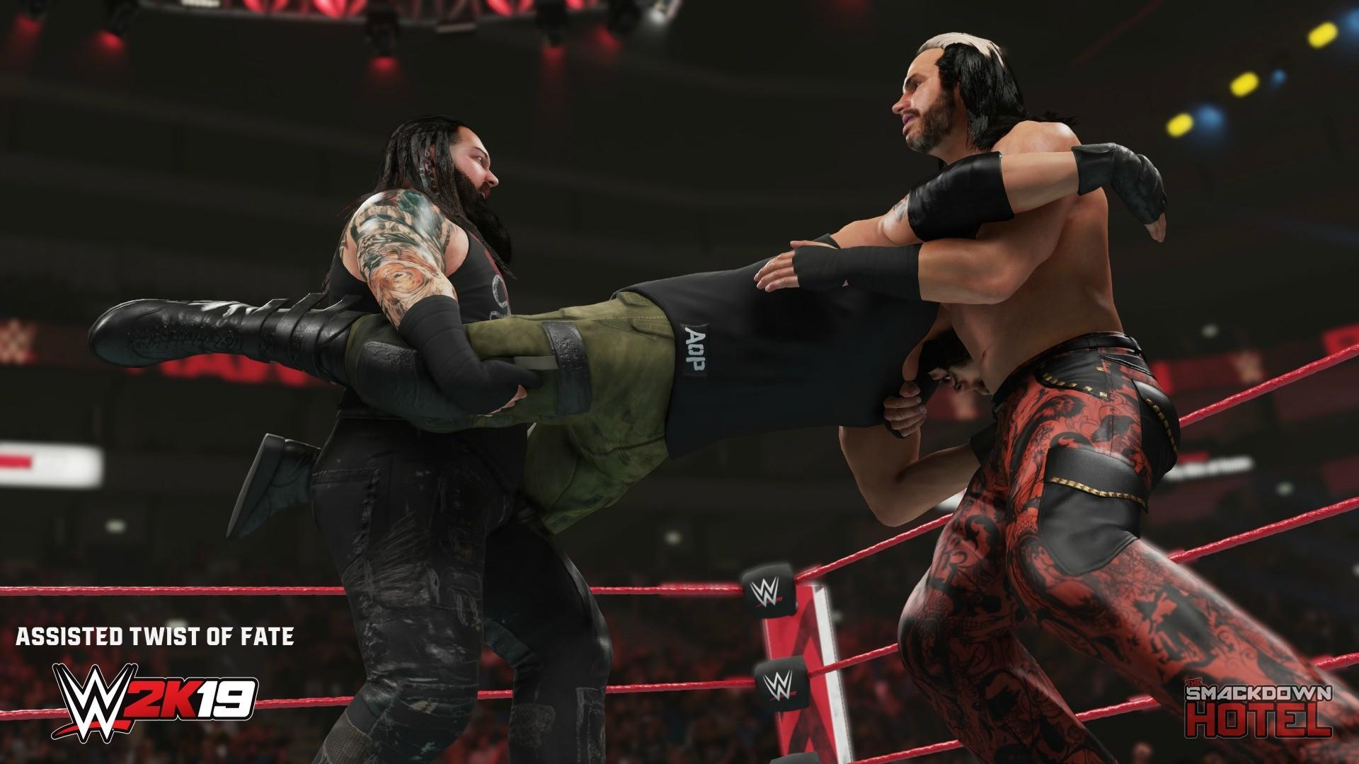 WWE 2K19 Moves Pack Coming Soon Full List Of New Moves