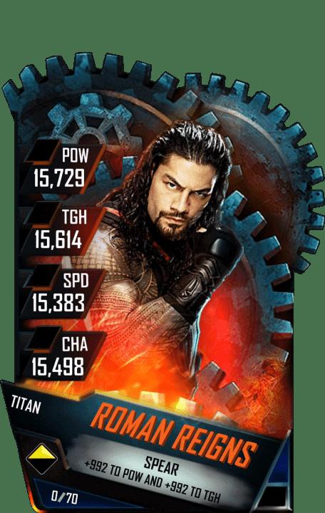 Roman Reigns WWE SuperCard Season 1 Debut WWE