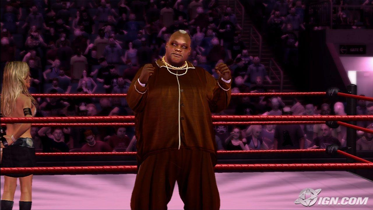 Viscera WWE SmackDown Vs Raw 2007 Roster