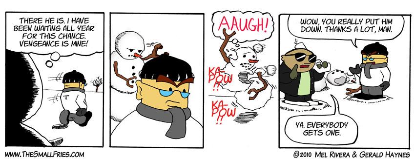 Snowman Vengeance