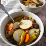 Sausage Vegetable Soup | The Small Town Foodie