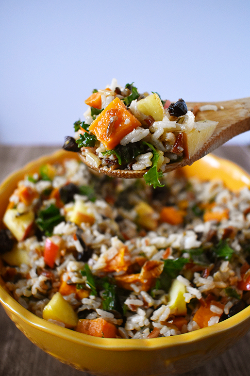 Wild Rice Salad | The Small Town Foodie