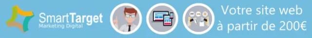 Offre site web à partir de €200 chez Smart Target