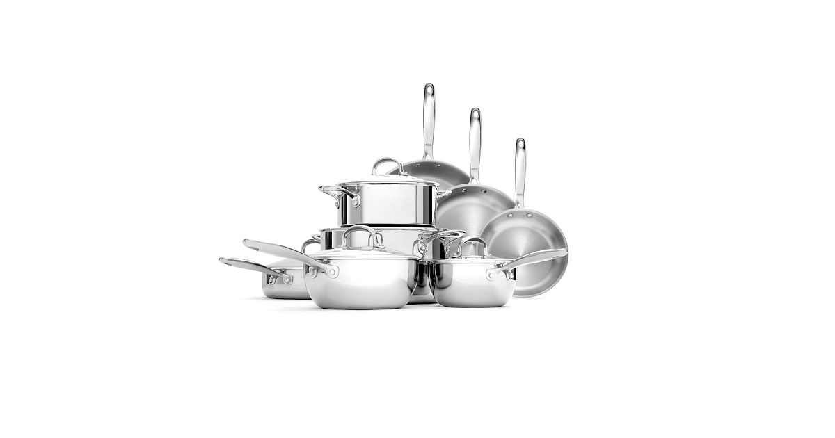 The Best Stainless Steel Cookware Set Reviews (Top 4