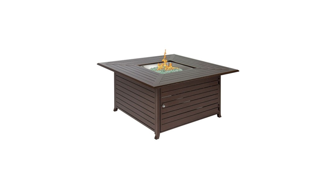 Best Choice Products Gas Outdoor Fire Pit Table