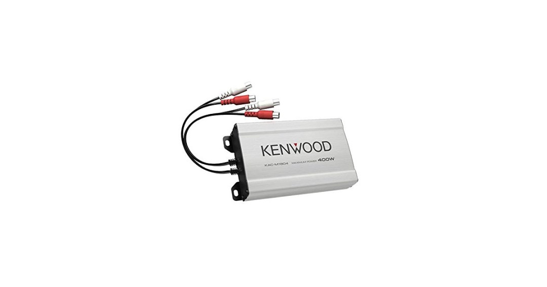 Kenwood KAC-M1804 Compact 4-channel Amplifier