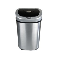 Stainless Steel Kitchen Trash Can Best Floor For The Top 4 Reviewed In 2019 Smart Consumer Nine Stars Dzt 80 Infrared Touchless