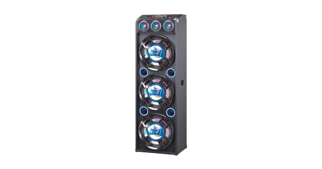 QFX SBX-412300BTBL Speaker with Built-In Amplifier Bluetooth